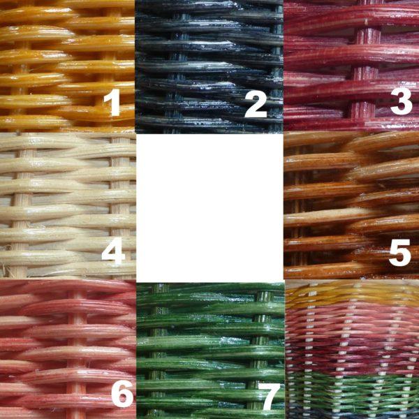 Gama de colores de Aspar La Besana