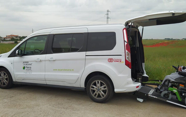 """Fundación ONCE apoya económicamente a ASPAR """"La Besana"""" en su Proyecto de Adquisición de Vehículo Adaptado."""