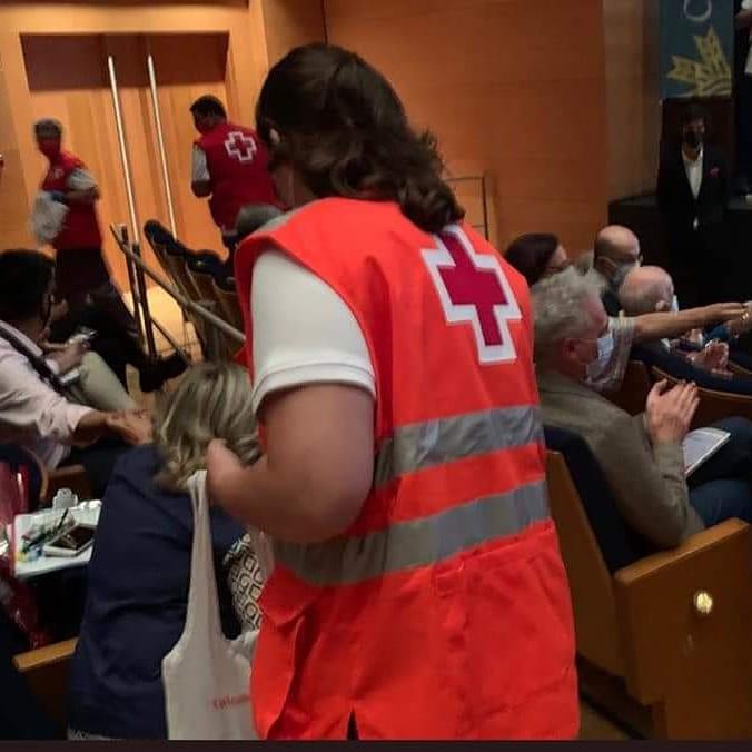 """Aspar """"La Besana"""": Reconocimiento Especial por 25 años de Solidaridad desde Cruz Roja Salamanca."""
